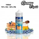 Υγρό αναπλήρωσης Ramsey Treats - Blueberry Pancakes 100ml