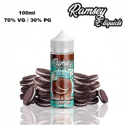 Υγρό αναπλήρωσης Ramsey Treats Cookies and Creme 100ml
