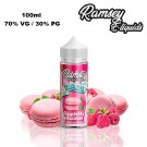 Υγρό αναπλήρωσης Ramsey Treats - Raspberry Macaron 100ml