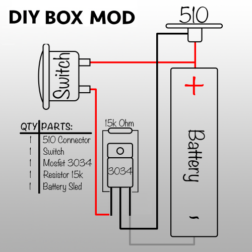 For In Box Mod Mos Fet Wiring Diagram - Wiring Diagrams Okr Box Mod Wiring Diagram on