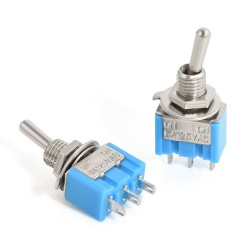 Mini Διακόπτης Toggle Switch ON-OFF 3 επαφές