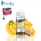 Υγρό αναπλήρωσης Halo Late Night Diner Bananas Foster Pie 50ml