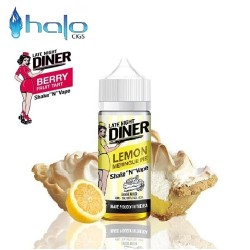 Υγρό αναπλήρωσης Halo Late Night Diner Lemon Meringue Pie 50ml
