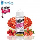 Υγρό αναπλήρωσης Halo Late Night Diner Strawberry Shortcake 50ml