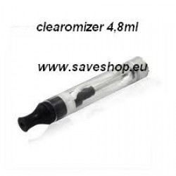 Dual Coil Clearomizer 4.8ml
